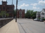 The old firehouse. This is looking down Middleton.