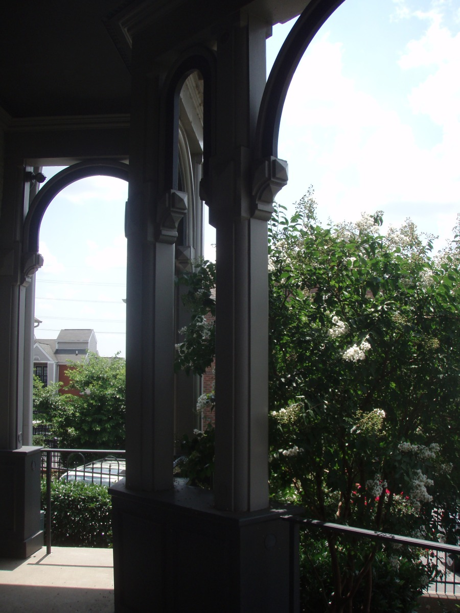 Details from the front porch.