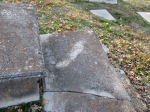 This is either Martha Allen (wife of J.A. Blackmore)'s grave or one of their kids.
