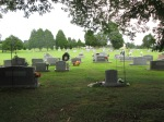 This is the cemetery on Bear Wallow Road. It's not very interesting.
