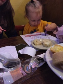 My brother texted me this picture of my niece. Please note how she's coloring! The genes come through again!
