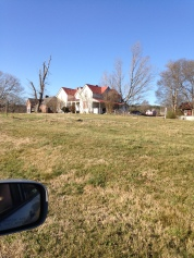 This piece of land had houses from every major architectual era on it. I couldn't fit them all in though.